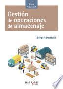 Gestión de operaciones de almacenaje