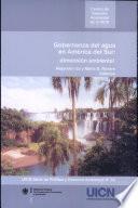 Gobernanza del agua en América del Sur
