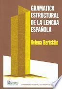 Gramática estructural de la lengua española