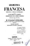 Gramatica Francesa, reducida a reglas generales, etc. 3. ed