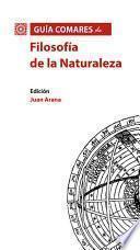 Guía Comares de Filosofía de la Naturaleza
