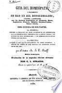 Guia del homeópata ó Tratamiento de mas de mil enfermedades...