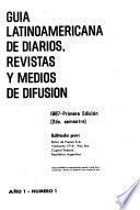 Guía latinoamericana de diarios, revistas y medios de difusión