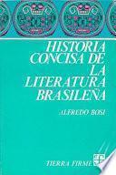 Historia concisa de la literatura brasileña