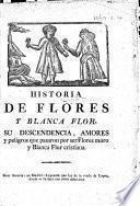 Historia de Flores y Blanca Flor, etc