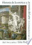 Historia de la estética y de la teoría del arte