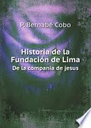 Historia de la Fundaci?n de Lima