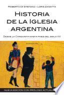 Historia de la Iglesia argentina