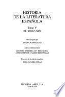 Historia de la literatura española