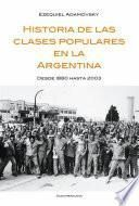 Historia de las clases populares en la Argentina
