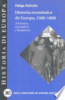 Historia económica de Europa: 1500-1800