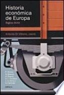Historia económica de Europa,siglos. XV-XX