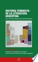 Historia feminista de la literatura argentina - Tomo IV