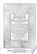 Historia moral y philosophica, en que se trattan las vidas de doze philosophos y principes antiguos, y sus sentencias y hazanias etc