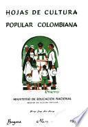 Hojas de cultura popular colombiana