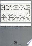Homenaje a Esteban Pujals Fontrodona