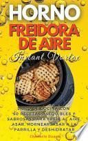 HORNO FREIDORA DE AIRE INSTANT VORTEX (Air fryer)
