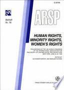 Human Rights, Minority Rights, Women's Rights