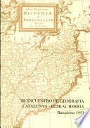 III Encuentro de Geografia Catalunya - Euskal Herria