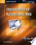 Implantación de aplicaciones web (GRADO SUP.)