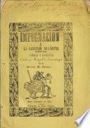 Impugnacion a La cuestion de lı́mites entre Chile i Bolivia escrita por Miguel L. Amunàtegui
