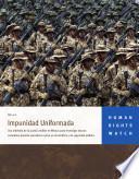 Impunidad Uniformada