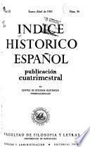 Indice histórico español
