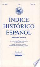 Indice Historico Espanol publicacion semestral