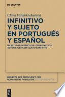 Infinitivo y sujeto en portugués y español