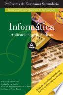 Informatica. Profesores de Enseñanza Secundaria. Aplicaciones Didacticas. E-book