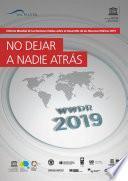 Informe Mundial de las Naciones Unidas sobre el Desarrollo de los Recursos Hídricos 2019