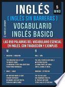 Inglés (Inglés Sin Barreras) Vocabulario Inglés Basico - 5 - MNO