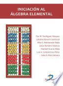 Iniciación al algebra elemental