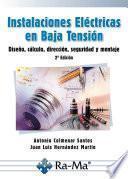 Instalaciones Eléctricas en Baja Tensión. 2ª Edición.