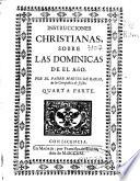 Instrucciones christianas sobre las dominicas de el año