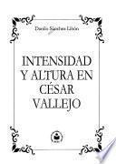Intensidad y altura en César Vallejo