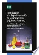 Introducción a la experimentación en química física y química analítica