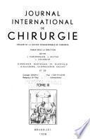 Journal international de chirurgie