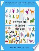 Kit Completo de Origami para Niños