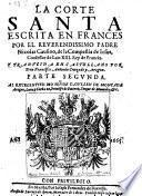 La Corte santa. Traducida en castellano
