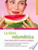 La dieta volumétrica