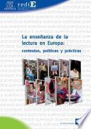 La enseñanza de la lectura en Europa: contextos, políticas y prácticas