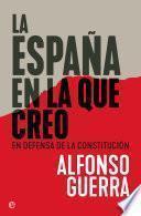 La España en la que creo