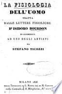La fisiologia dell'uomo tratta dalle lettere fisioliche d'Isidoro Bourdon