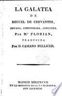 La Galatea de Miguel de Cervantes