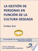 La gestión de personas en función de la cultura deseada