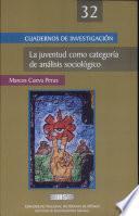 La Juventud Como Categoria de Analisis Sociologico