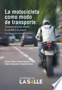 La motocicleta como modo de transporte