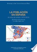 La población en España. Homenaje al Dr. Vicente Gozálvez Pérez
