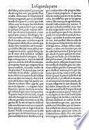 La Primera parte de la quarta de la Choronica de el excellentissimo principe don Florisel de Niquea
